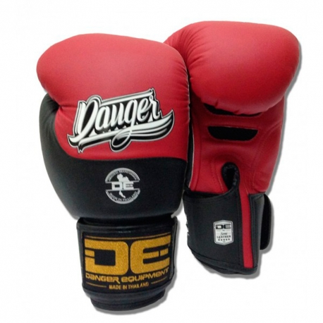 Guantes Danger Evolution DT Rojo-Negro