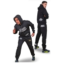 Cotton Track Suits Black Danger